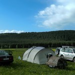 The field camp
